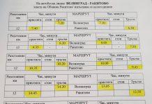 Разписание за Велинград