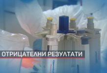 Отрицателни резултати на коронавирус